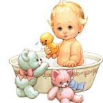 Купание новорожденных